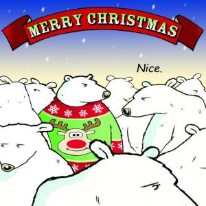 CAN2 – Christmas Jumper Funny Christmas Card